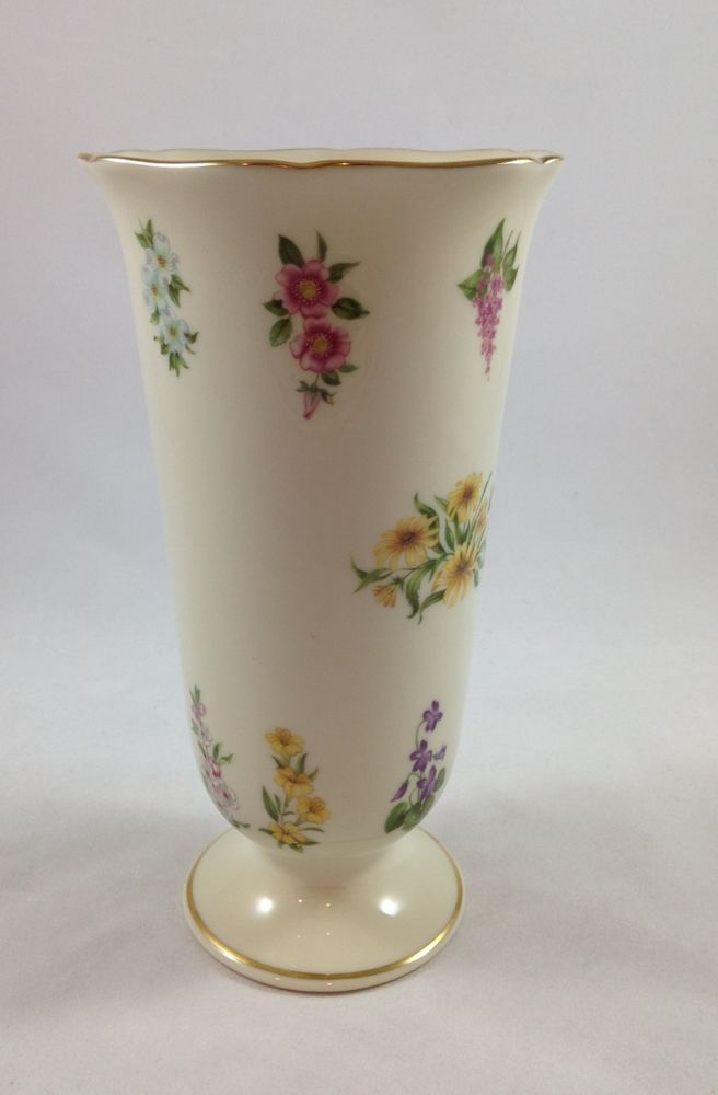 Lenox The Constitution Vase Fine Ivory China Limited Edition 1992