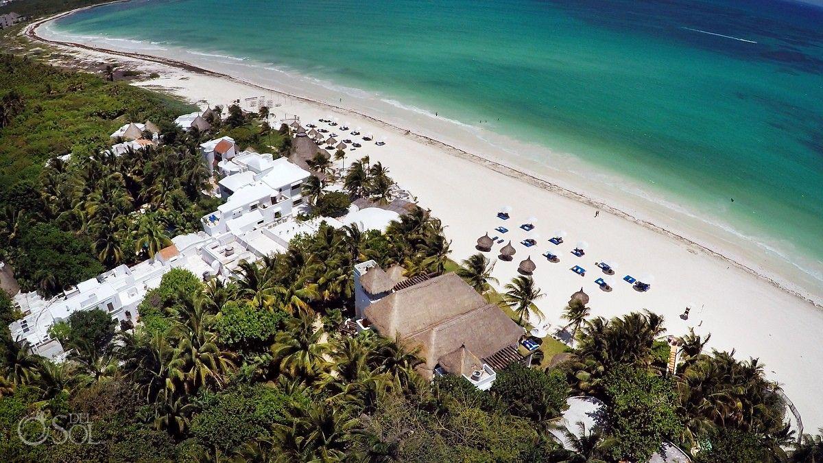 Aerial View Of One The Best Beaches In World Playa Maroma Riviera Maya Belmondtravel Resort Is A Beautiful Destination Wedding Venue