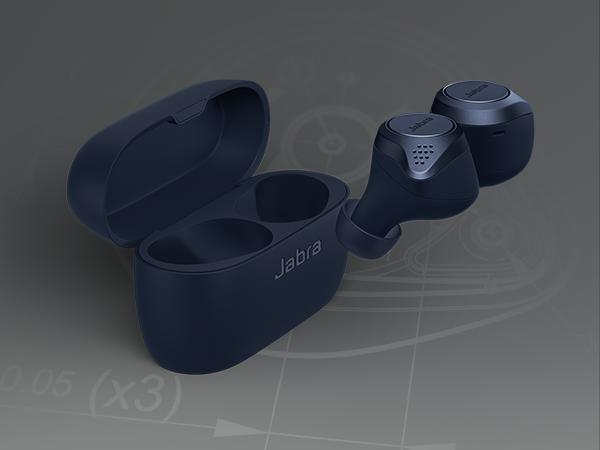 Amazon Com Jabra Elite Active 75t Earbuds Alexa Built In True Wireless Earbuds With Charging Case Navy In 2020 Wireless Earbuds Earbuds Wireless