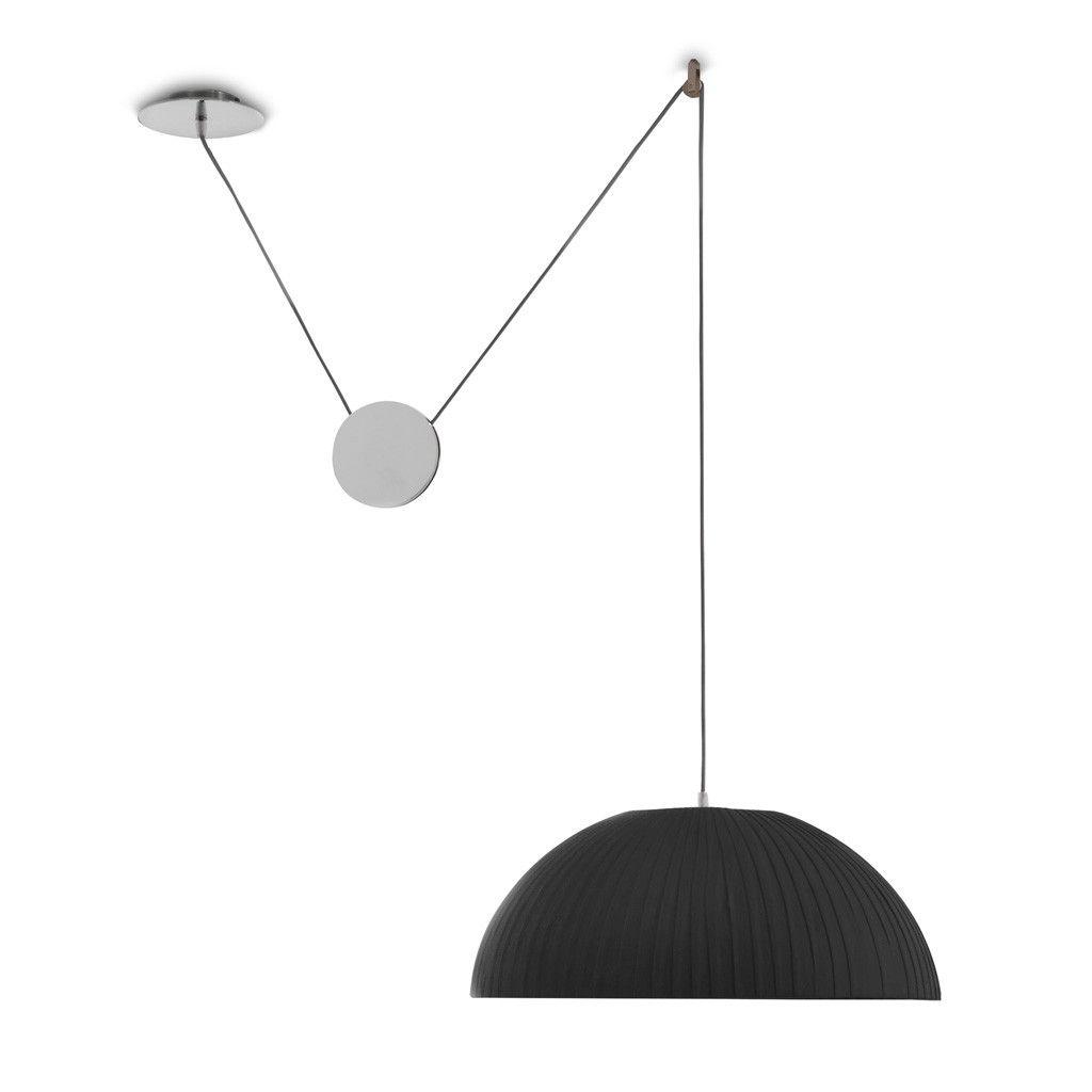 Lámpara de techo colgante con contrapeso Lilace 50. Es una lámpara ...