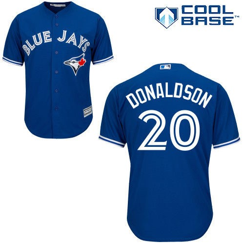 f4881ebb9 Men s Majestic Josh Donaldson Royal Toronto Blue Jays Cool Base Player  Jersey