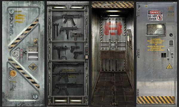 Sci Fi Themed Door Decals Thinkgeek