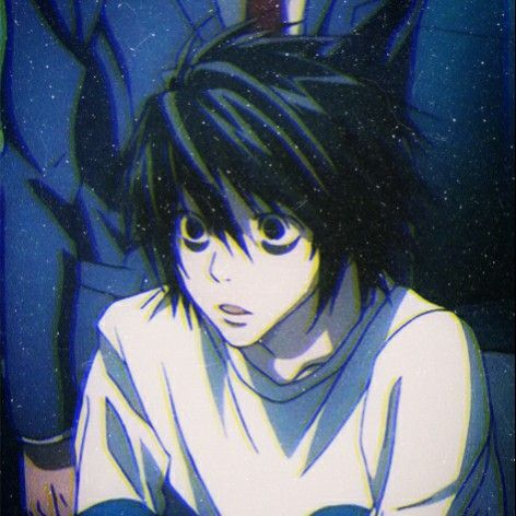 Pin By Bicon On L Of Death Note In 2020 Death Note Fanart Death Note L Death Note Kira