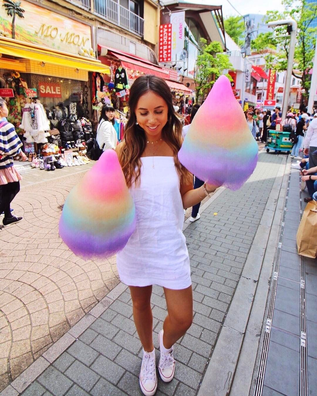 Cotton Factory: The Famous Multi Colored Totti Candy Factory Cotton Candy