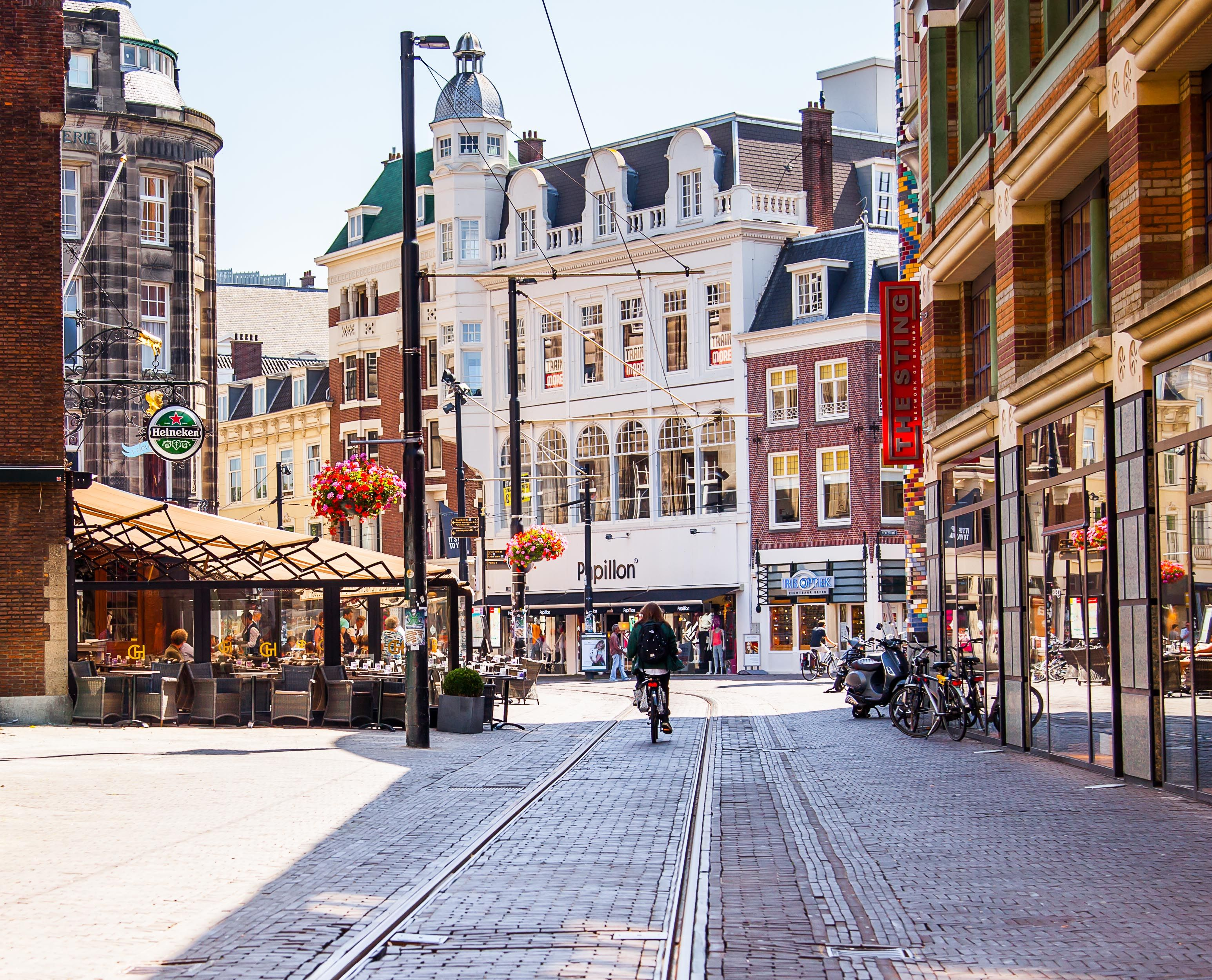 Shopping Area, The Hague Stad, Steden