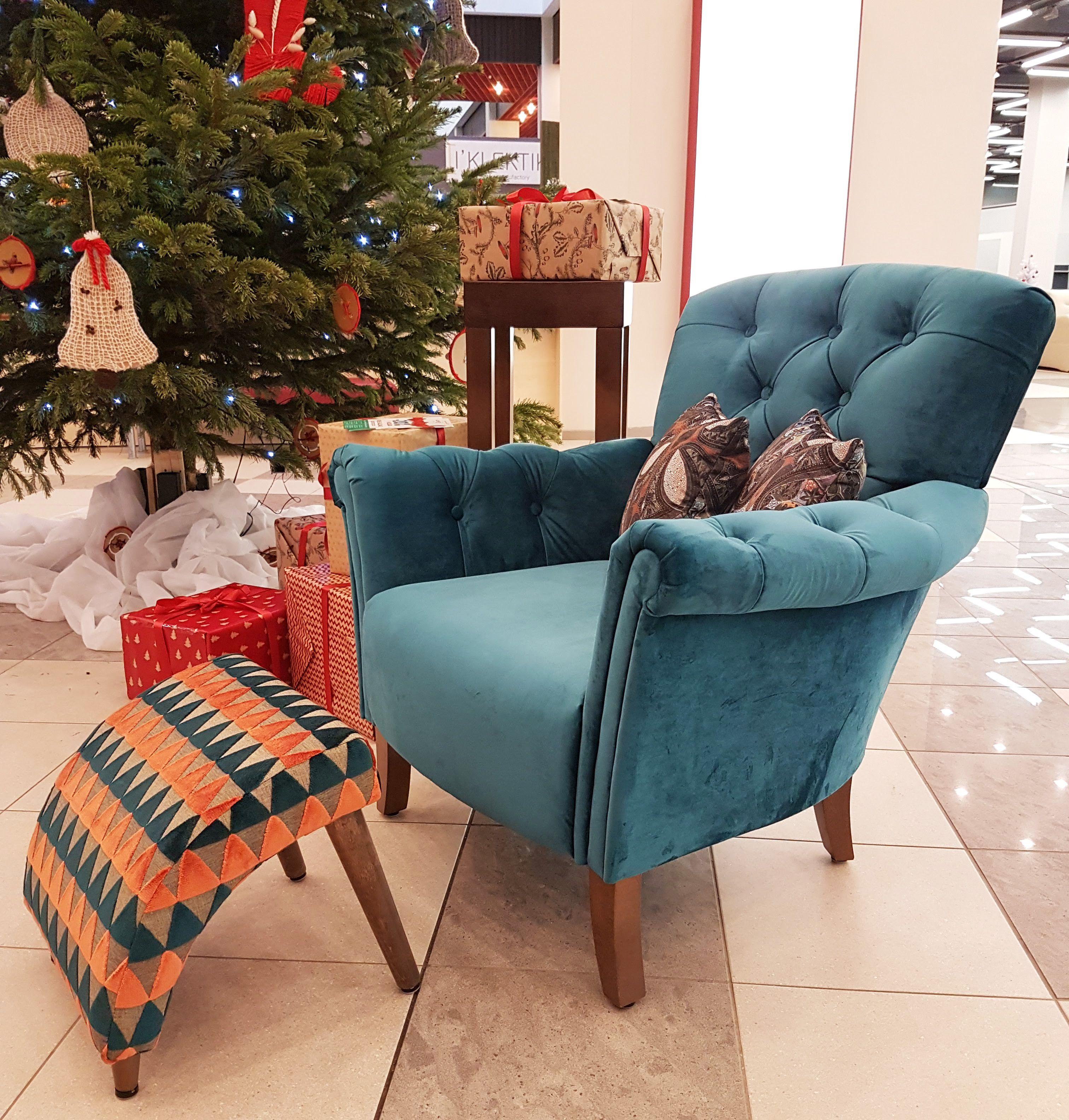 PARIS armchair and TINY footstool.  Home decor, Furniture, Decor