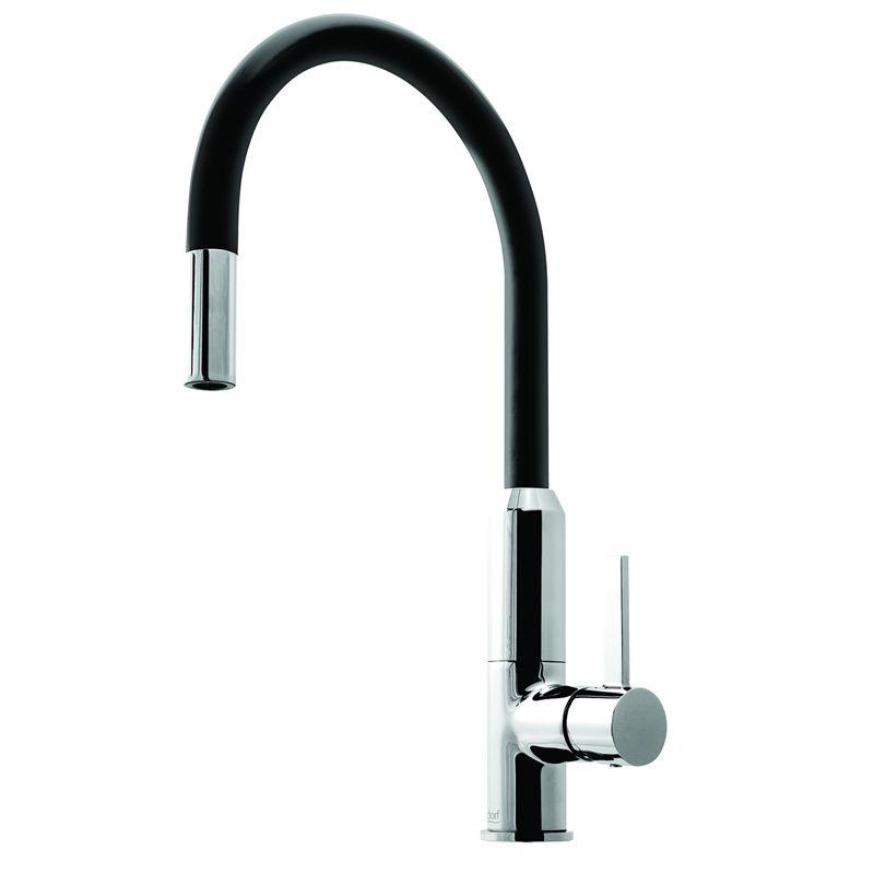Dorf Vixen Black Retractable Sink Mixer New House Pinterest