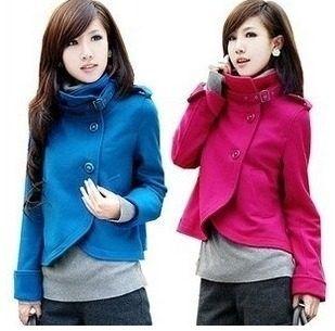 5436f40a2 chaqueta abrigo corto gaban colores mujer blazer saco sueter   sacos ...