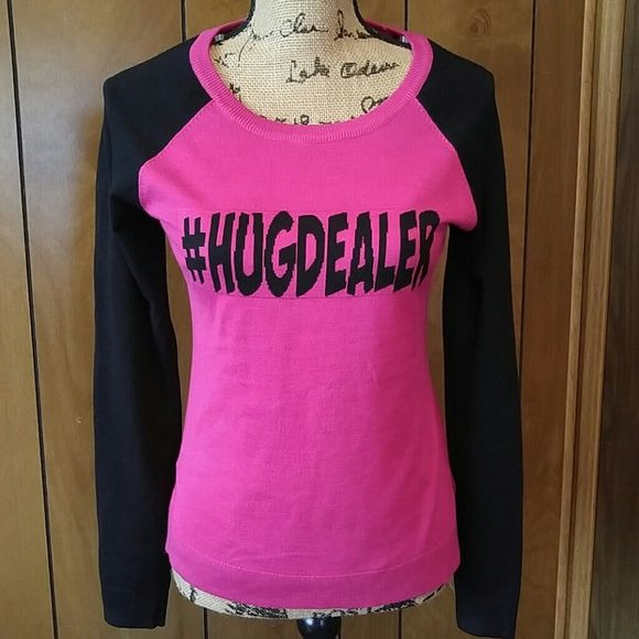 HugDealer sweater Hugdealer sweater.size medium.in a very good condition. Rue 21 Sweaters
