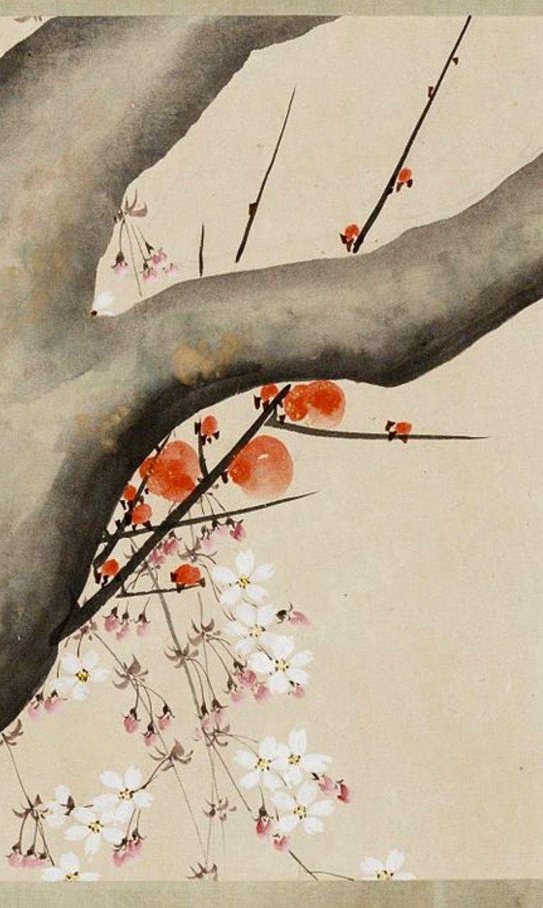 Detail Sakai Hōitsu Handscroll Japanese Painting 1815 Ink And