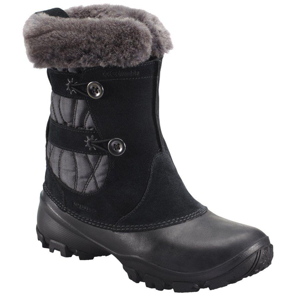 Columbia Women's Sierra Summette IV Slip Winter Boot,Black/Grill,5 ...