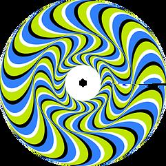publicité roue vélo spirale | Optical illusions art, Optical illusions, Cool optical illusions