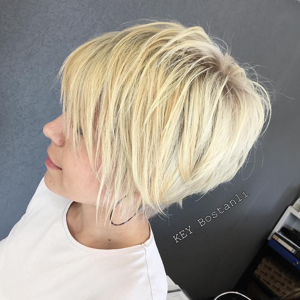 short shaggy spiky edgy pixie cuts and hairstyles corte de