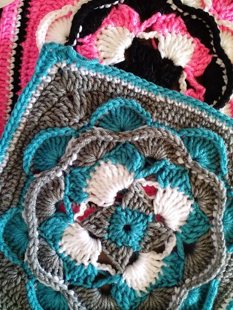 Hills Valleys Pattern By Jessica Phillips Squares Granny