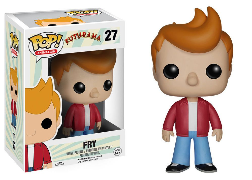 Funko Pop Animation Futurama Fry Vinyl Action Figure 5235