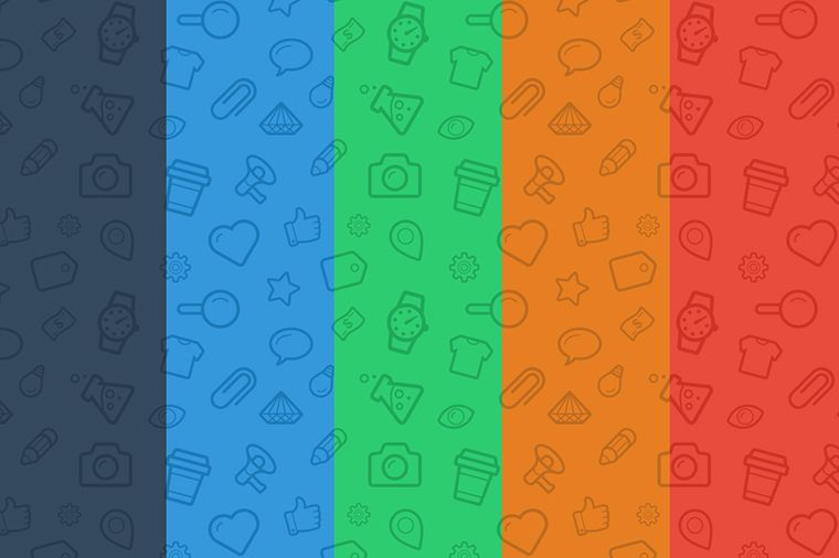 5 Great Free Seamless Icon Patterns For Your Next Web Design