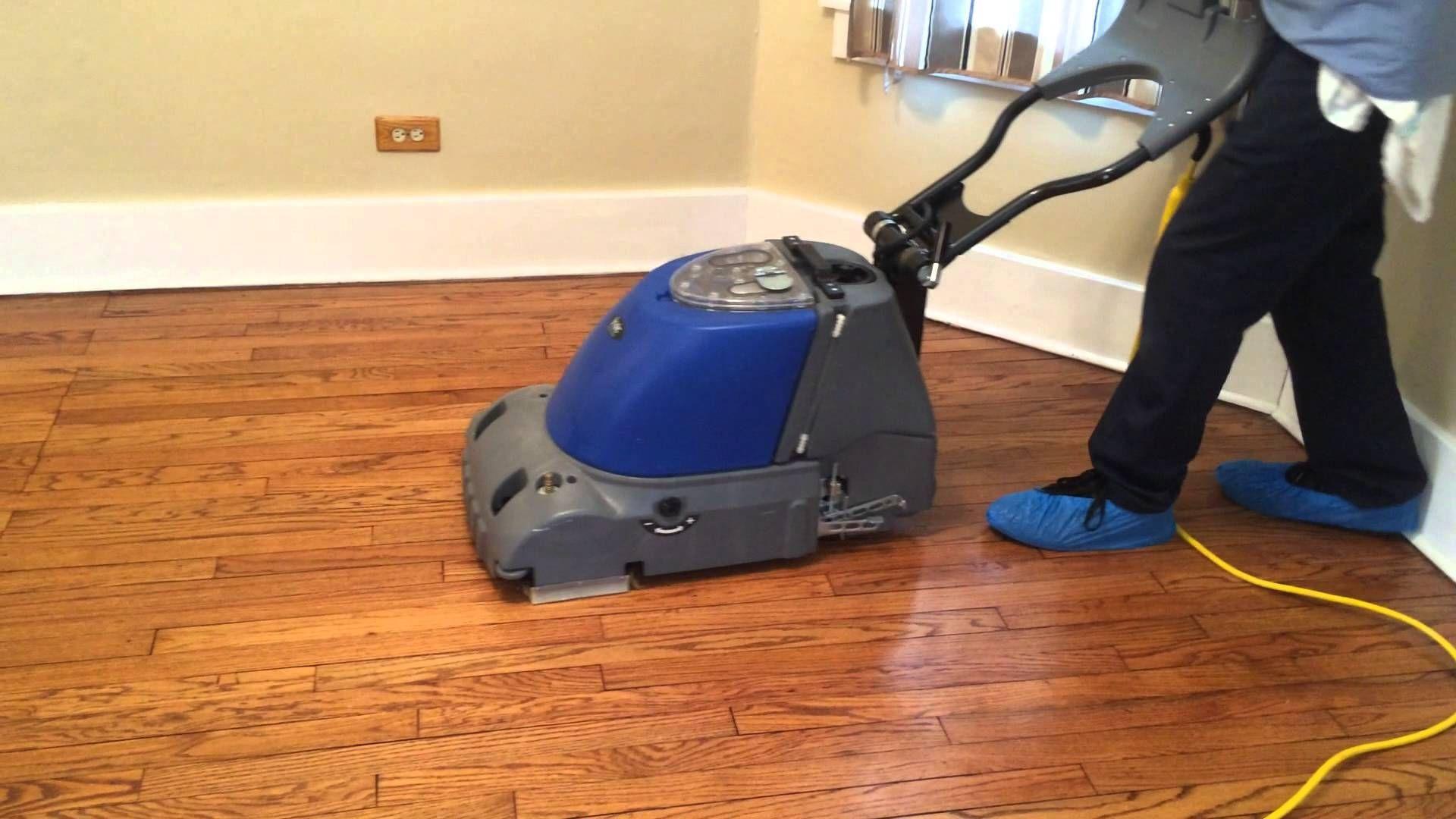 Hardwood Floor Scrubbing Machines