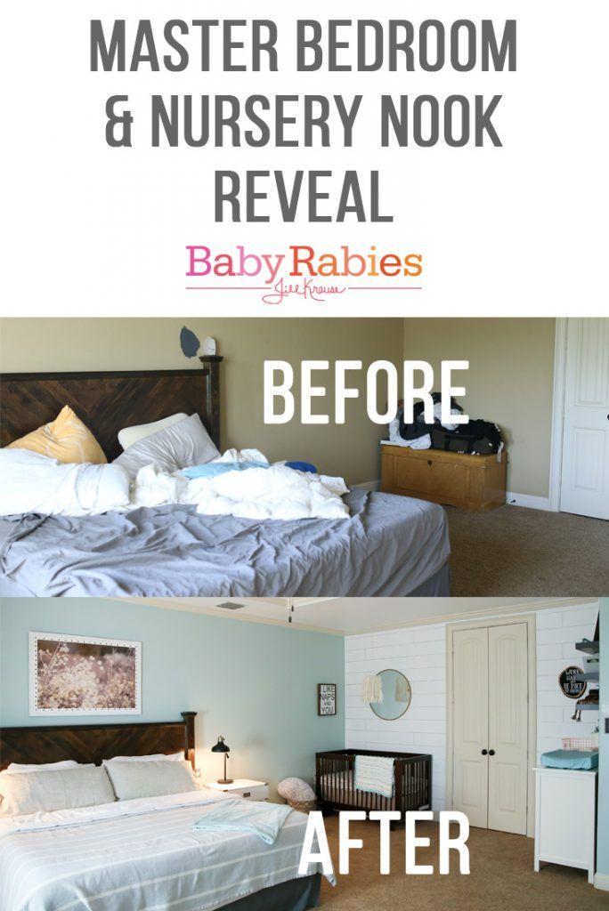 Master Bedroom Nursery Ideas master bedroom & nursery nook reveal!   nursery nook, nook and