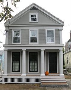 Traditional Greek Revival Porch Skirting Google Search Upstate Pinterest Porch