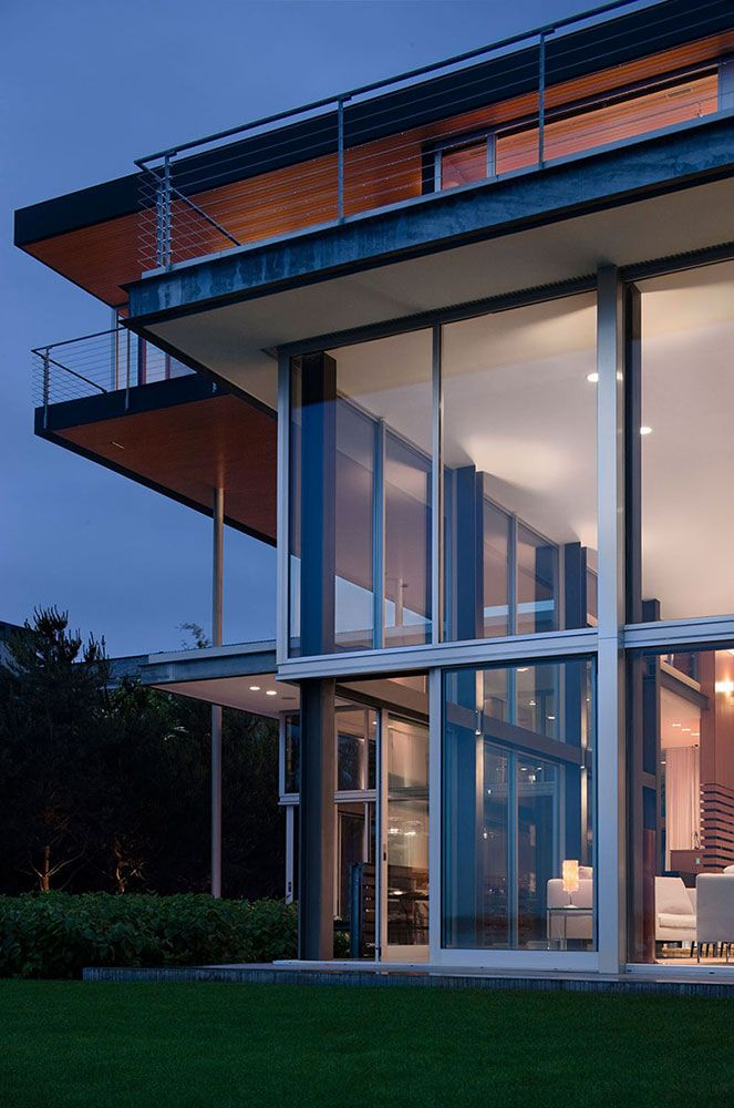 Futuristic Nature House Design: Graham House By E. Cobb Architects