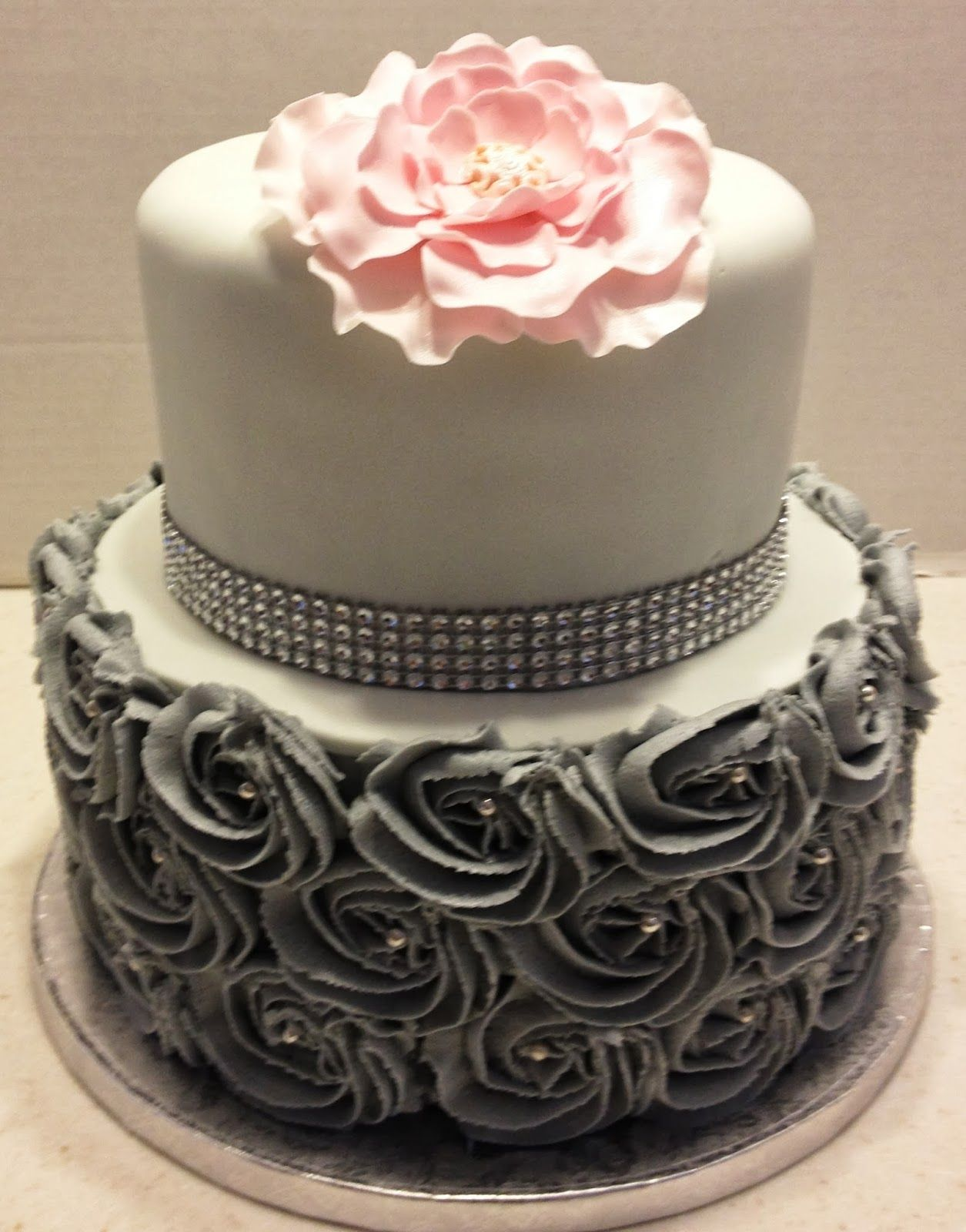 60th birthday cake This cake design was requested from a