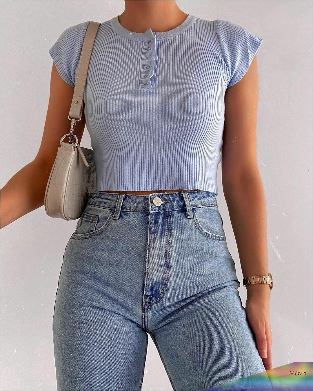 On April 29, 2020 Fashion Inspiration And Trend Of Outfits For A Casual Look –  …
