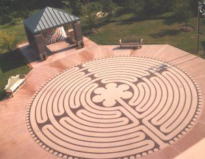 Ordinaire Labyrinth Designs | Labyrinth By Labyrinth Enterprises Installed At West  Clinic In Memphis .