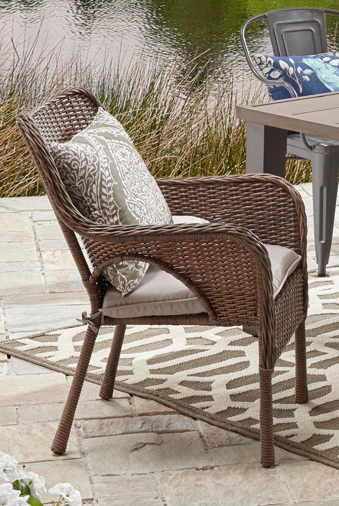 Camrose farmhouse wicker chair outdoor wicker chairs