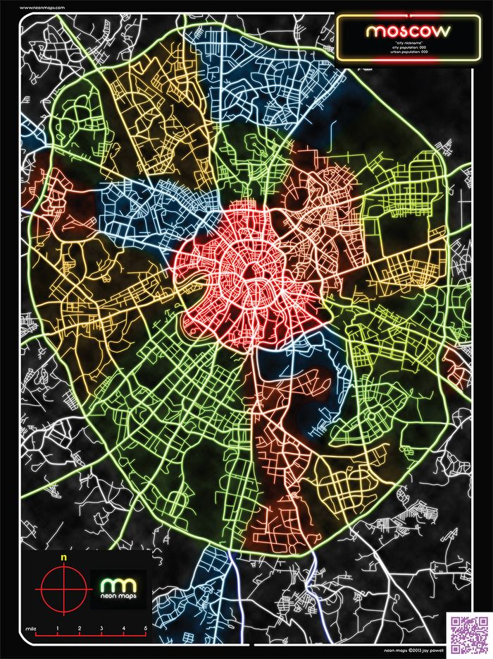 World Map Moscow%0A New Moscow map with neon lights  Kickstarter project