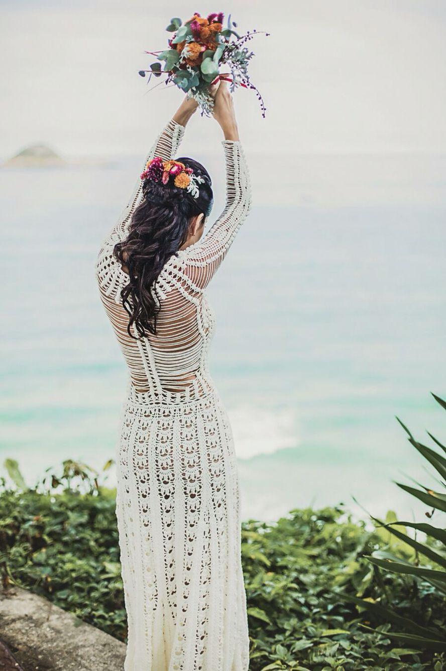 My wedding dress. Crochet! Handmade! By Helen Rödel! ✨ | deer ...