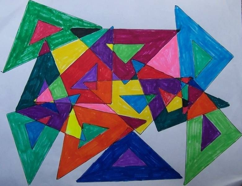 Art With Shape Google Search Shape Geometric Art Fine