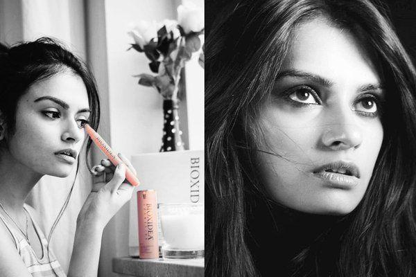 Bioxidea Haute Skincare as seen on the fashion blogger Shraddha Singh from Amsterdam