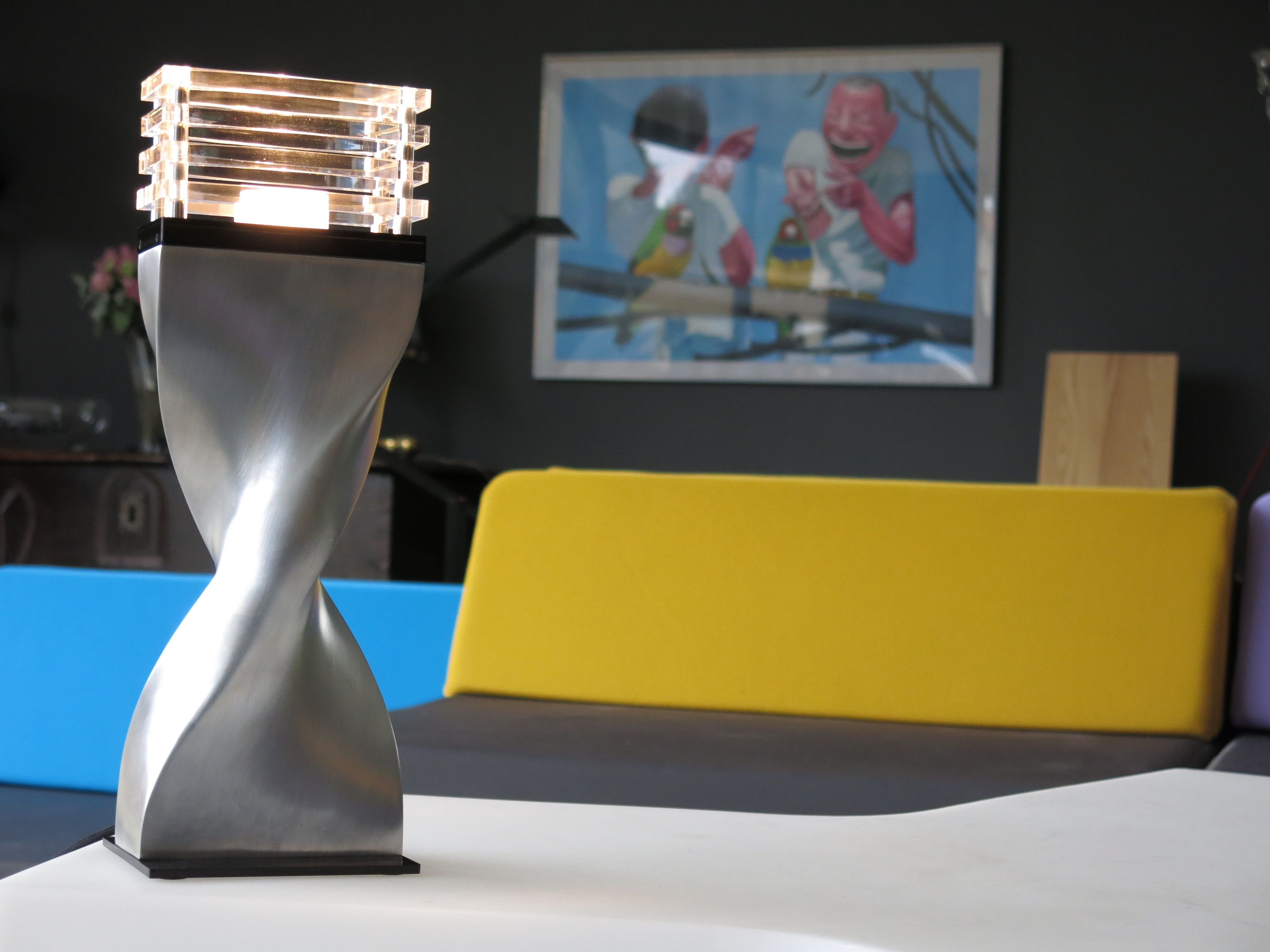 Ateliers Torsades - Helico table lamp - Design By Roger Pradier
