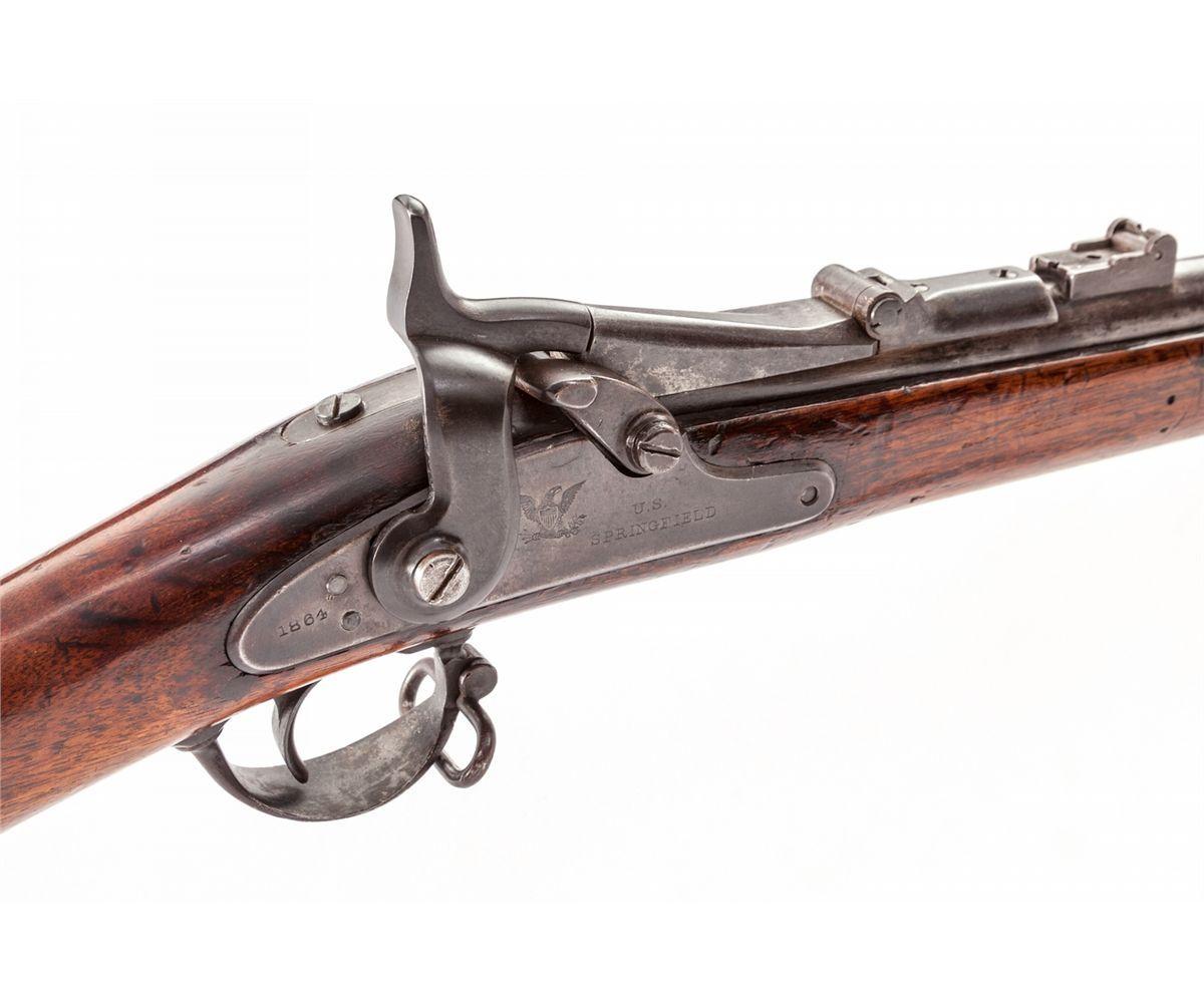 SPRINGFIELD 1866 -No  built 52,000  centerfire  50-70