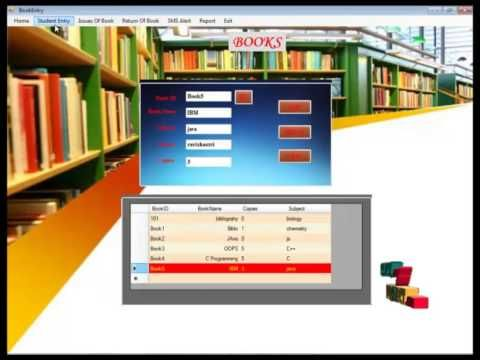 Image result for library management system template | desktop | Free