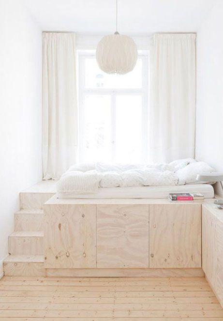 Spazio Contenitore Sotto Il Letto Bhoccch Tiny Bedroom Design