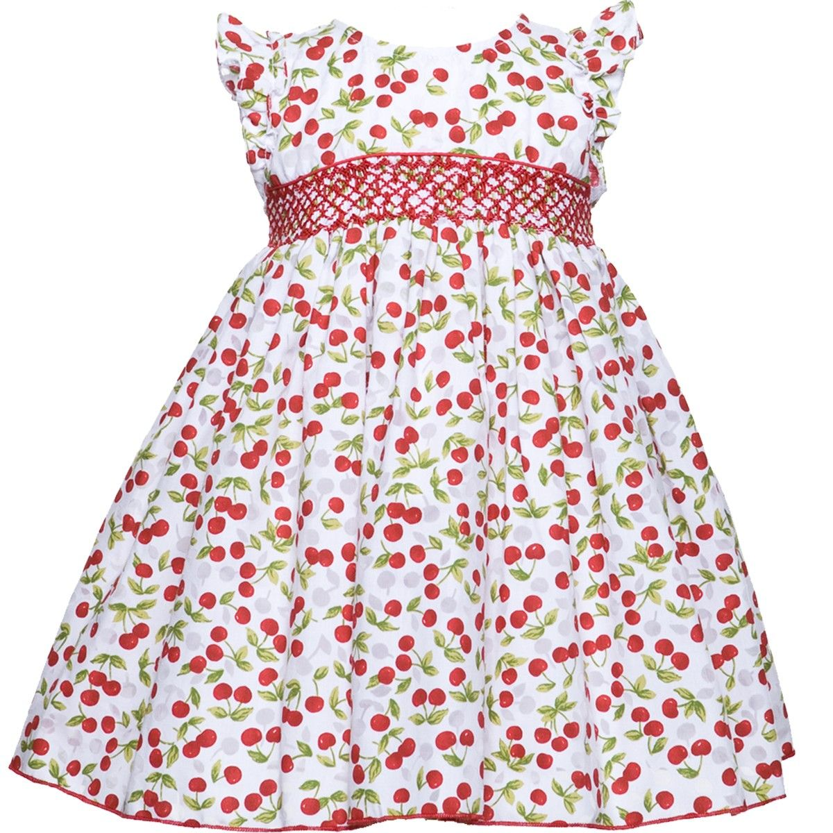French Cherries Hand Smocked Dress | Smocked | Pinterest | Vestidos ...