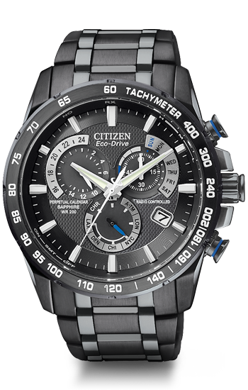 57e44517a6fb Perpetual Chrono A-T Model  AT4007-54E Citizen Eco-Drive technology with  atomic timekeeping makes this the most accurate watch in the world.
