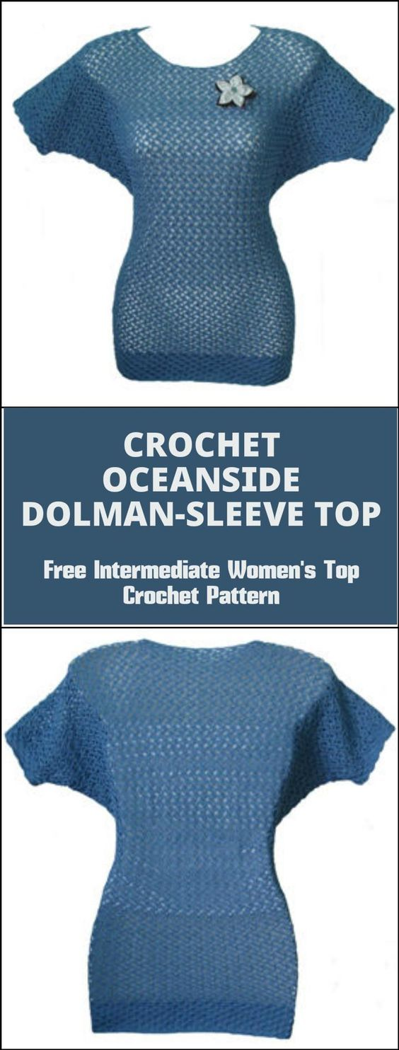 50+ Quick & Easy Crochet Summer Tops - Free Patterns - Page 5 of 9 ...