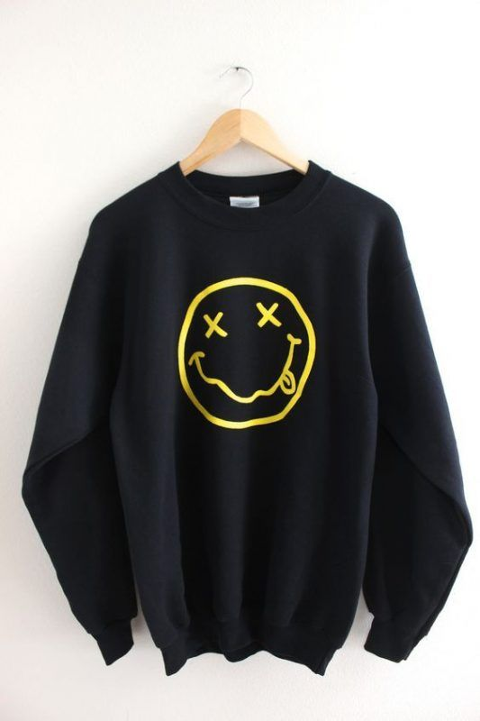 Smiley Face Sweatshirt AY