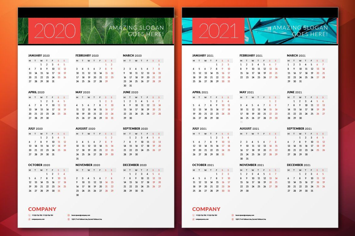 Wall Calendar 2020 Wall Calendar Calendar 2020 Calendar