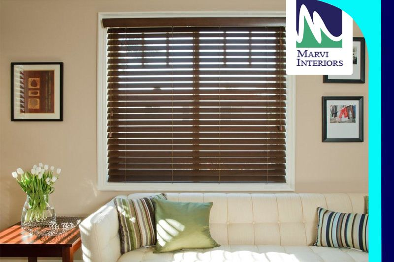 Marvi Interiors Offers A Wide Variety Of Woodenblinds Our Wood