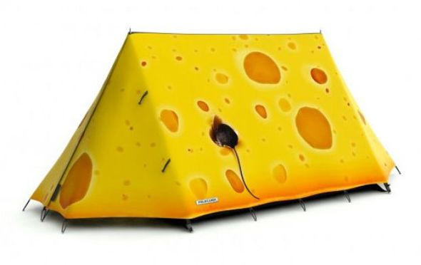 Barraca de camping sensacional!