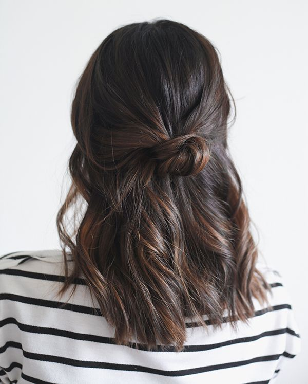 7 Easy Hairstyles For Christmas Morning Hair Tips Pinterest