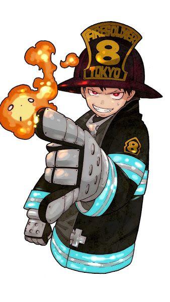 Fire Force, Shinra Kusakabe, Flame, 4K,3840x2160