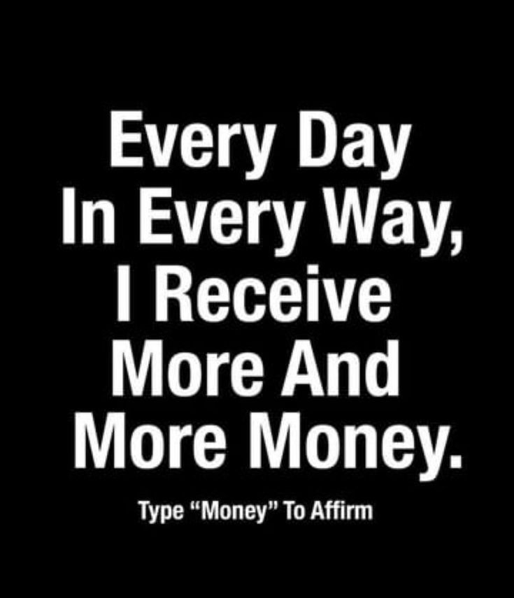 Positive Law Of Attraction Affirmations Abundance Affirmations To Help You With manifest money