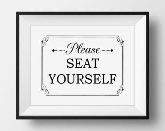 Bathroom Sign Art printable bathroom art funny bathroom signs art please seat