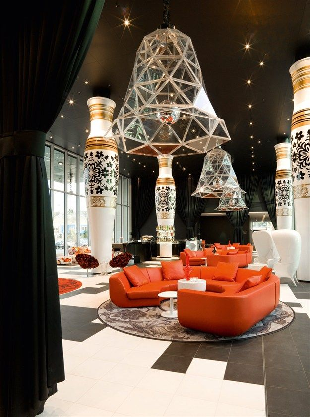Marcel wanders hotel interior design trends hospitality for Hotel lobby design trends