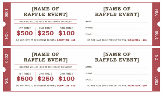Raffle sites legal