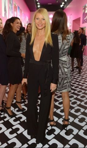 Gwyneth Paltrow at @DVF's Journey Of A Dress exhibition